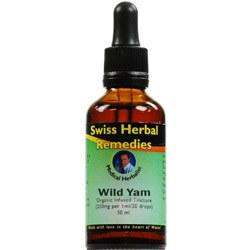 Swiss Herbal Remedies Ltd  Wild Yam 50ml