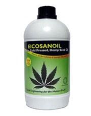 Swiss Herbal Eicosanoil Hemp Seed Oil 1000ml