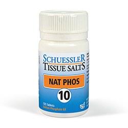 Schuessler Nat Phos No 10 125 tablet