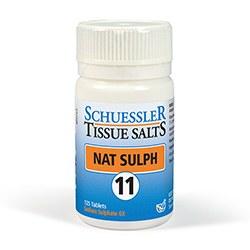Schuessler Nat Sulph No 11 125 tablet