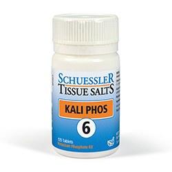 Schuessler Kali Phos No 6 125 tablet