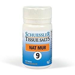 Schuessler Nat Mur No 9 125 tablet