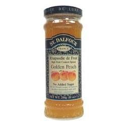 St Dalfour Peach Fruit Spread 284g