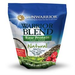 Sunwarrior Warrior Blend Organic Natural 375g