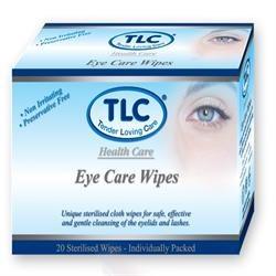 TLC Eye Care Wipes 20wipes