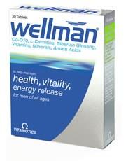 Vitabiotic Wellman 30 capsule
