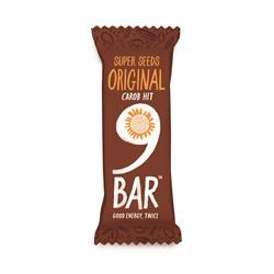 9 Bar Original Carob & Hemp 40g