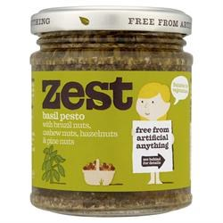 Zest Basil Pesto Vegan 165g