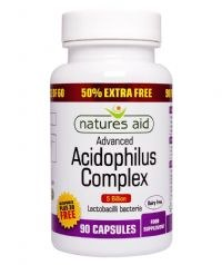 Natures Aid Promotional Packs Acidophilus Complex 5 Billion 90 capsule
