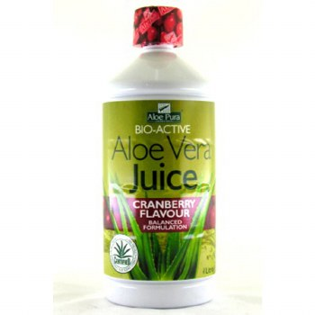 Aloe Pura Aloe Vera Juice Cranberry 1000ml