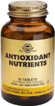 Solgar Antioxidant Nutrients Tablets 50