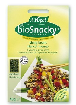 Bioforce Uk Ltd Biosnacky Mung Bean (seeds) 40g