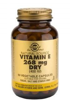 Solgar Dry Vitamin E 268 mg (400 IU)  50