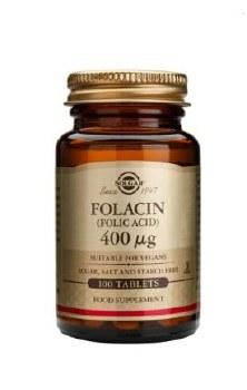 Solgar Folacin 400 g (Folic Acid) T 100