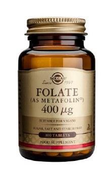 Solgar Folate 400 g (as Metafolin(R 50