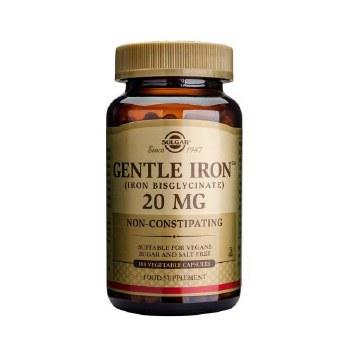 Solgar Gentle Iron(TM) 20 mg Vegetabl 90