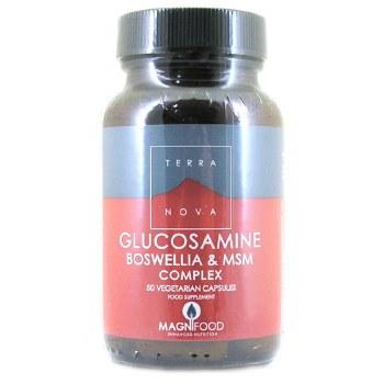 TERRANOVA Glucosamine, Boswellia &Turmer 50