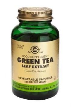 Solgar Green Tea Leaf Extract Vegetab 60
