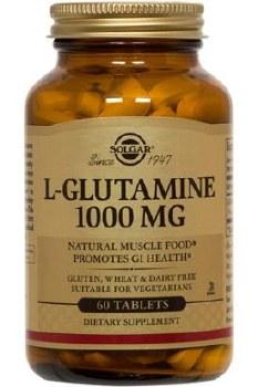 Solgar L-Glutamine 1000 mg Tablets 60