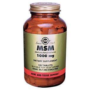 Solgar MSM 1000 mg Tablets 60