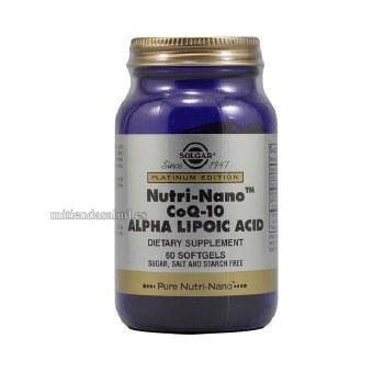 Solgar Nutri-Nano(TM) CoQ-10 Alpha Li 60
