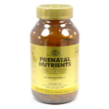 Solgar Prenatal Nutrients Tablets 60