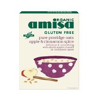 Amisa Org G/F Porridge Oats Apple Ci 300g