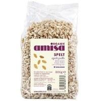Amisa Organic Spelt Honey Puffs 200g