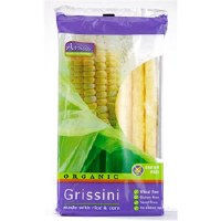 Amisa Org Corn & Rice Grissini 100g