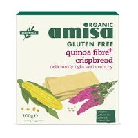 Amisa Quinoa Fibre Plus Crispbread 100g