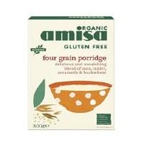 Amisa GF 4 Grain Porridge Org 300g