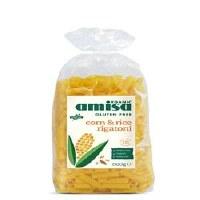 Amisa Org GF Corn & Rice Rigatoni 500g