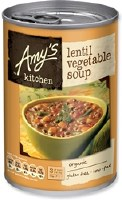 Amys Organic Lentil Vegetable Soup 400g