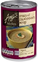 Amys Organic Cream of Mushroom Soup 400g