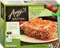 Amys Gluten Free Vegetable Lasagne 255g