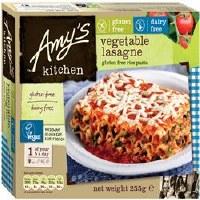 Amys GF DF Vegetable Lasagne 255g