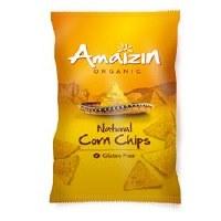 Amaizin Org Natural Corn Chips 250g