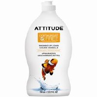 Attitude Washing Up Liquid -Citrus Zest 700ml