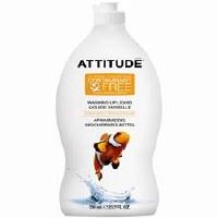 Attitude Washing Up Liquid -Citrus Zest 700ml
