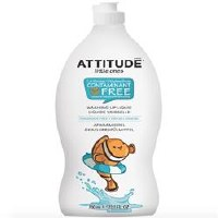 Attitude Washing Up Fragrance Free 700ml