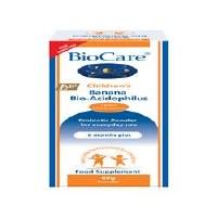 BioCare Child Banana BioAcidophilus 60g