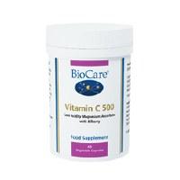 BioCare Vitamin C 500 60vegicaps