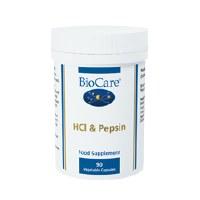 Biocare HCL & Pepsin 90 Vegicaps capsule