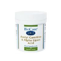 BioCare Acetyl Carnitine & Ala 30 Vegi capsule