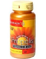 Bee Health Propolis Vit C & Zinc 60 capsule