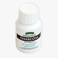 Braggs Charcoal Tabs 300mg 250 tablet