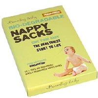 Beaming Baby Nappy Sacks Fragranced 60'spieces