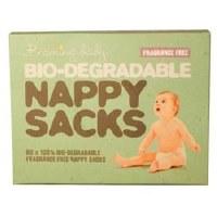 Beaming Baby Nappy Sacks Fragrance Free 1x60bags