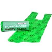 Beaming Baby Bio-degradable Nappy Sacks 60pieces