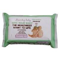 Beaming Baby Organic BabyWipes Unfragranced 1x72wipe